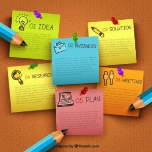 business-infographic-with-pinned-notes_23-2147505469