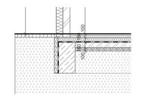 zeď napolystyrenu
